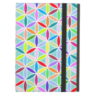 Flower of Life Pattern – Multicoloured iPad Air Cover