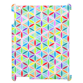 Flower of Life Pattern – Multicoloured Cover For The iPad