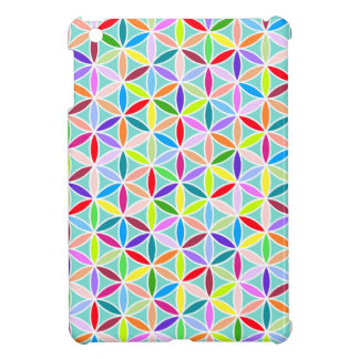 Flower of Life Pattern – Multicoloured Case For The iPad Mini