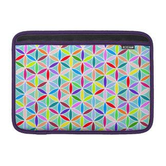 Flower of Life Pattern – Multicoloured MacBook Air Sleeves