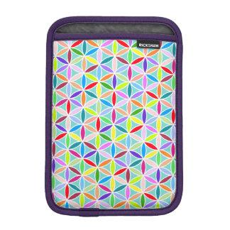 Flower of Life Pattern – Multicoloured Sleeve For iPad Mini