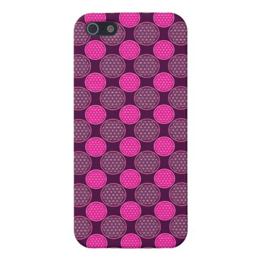 flower of life patterns case for iPhone SE/5/5s