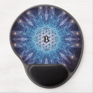 Flower of Life / Personalized Spiritual Gift Gel Mouse Pad