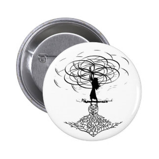 Flower of Life Pinback Button
