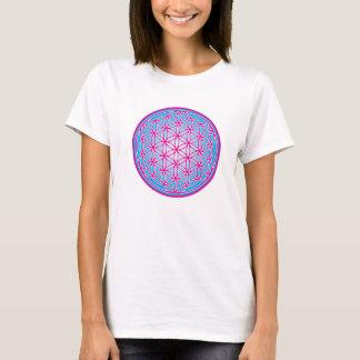 Flower of life - Pink T-Shirt