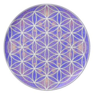 Flower of Life Plate 1