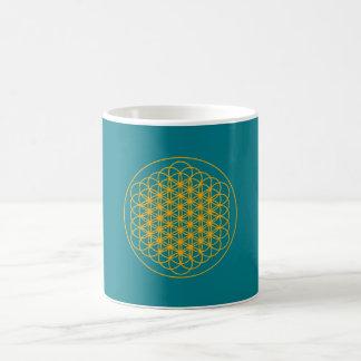 Flower of life positive energy mug by Dmt