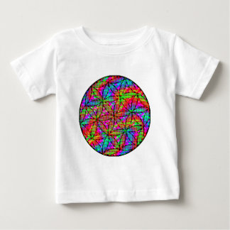 Flower of Life Psychedelic Baby T-Shirt