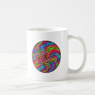 Flower of Life Psychedelic Coffee Mug