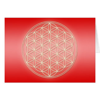 Flower of Life - Pure Energy Greeting Cards