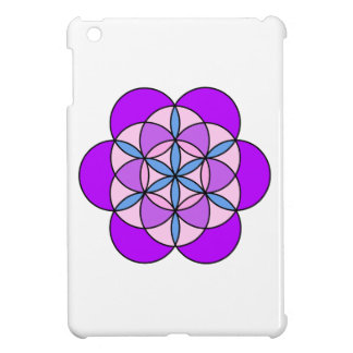 Flower of Life PurplePink Cover For The iPad Mini