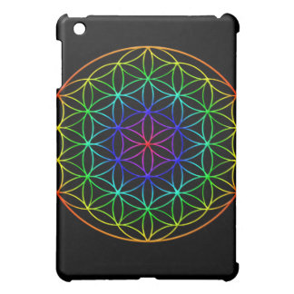 Flower of Life (rainbow) sacred geometry symbol Case For The iPad Mini