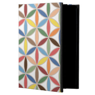 Flower of Life Retro Color Big Pattern iPad Air Cover
