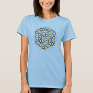 Flower of Life Retro Colors T-Shirt