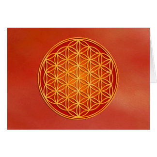 Flower of Life - Root Chakra Cards