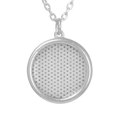 Flower of Life Round Pendant Necklace