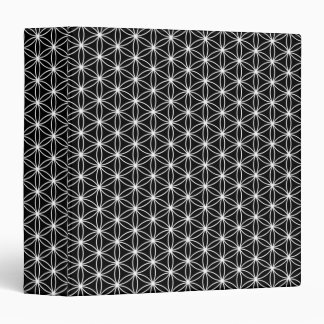 Flower Of Life Sacred Geometry 3 Ring Binder