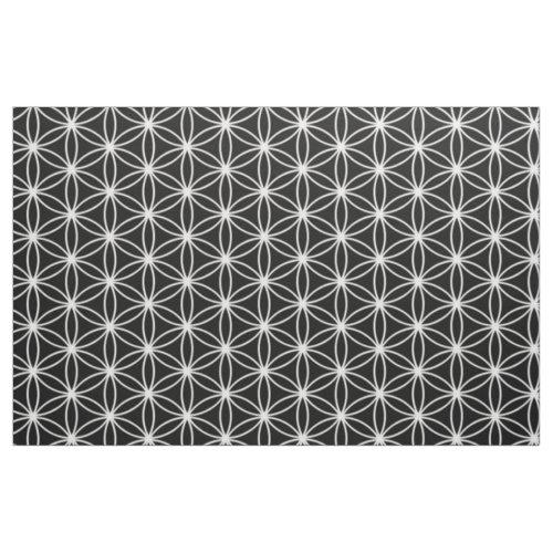 Flower Of Life Sacred Geometry Fabric