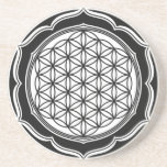 Flower of life, Sacred Geometry, Healing Symbol Drink Coasters