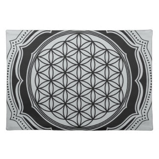 Flower of life, Sacred Geometry, Healing Symbol Placemat