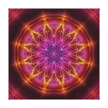 """flower of life"", ""sacred geometry"", mandala, cont canvas print"