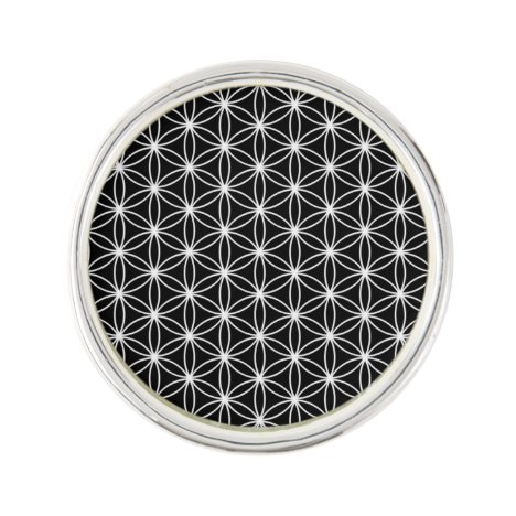 Flower Of Life Sacred Geometry Pin
