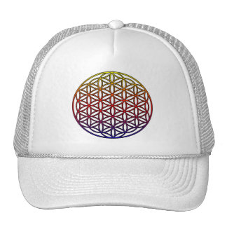 Flower of Life Sacred Geometry Symbol - 1 Hat