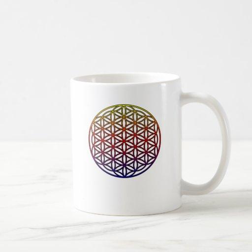 Flower of Life Sacred Geometry Symbol - 1 Mugs