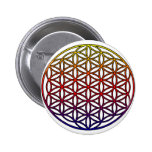 Flower of Life Sacred Geometry Symbol - 1 Pins