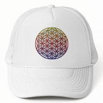 Flower of Life Sacred Geometry Symbol - 1 Trucker Hat