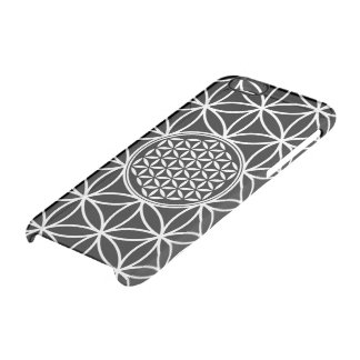 Flower of Life - seamless plain white + your backg Clear iPhone 6/6S Case