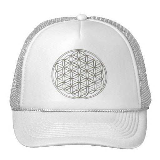 FLOWER OF LIFE - silver Trucker Hat