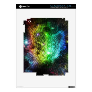 Flower of Life Skin For iPad 3
