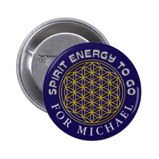 FLOWER OF LIFE - SPIRIT ENERGY TO GO BUTTON