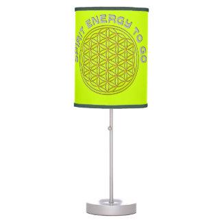 Flower of Life - spirit energy to go Desk Lamp