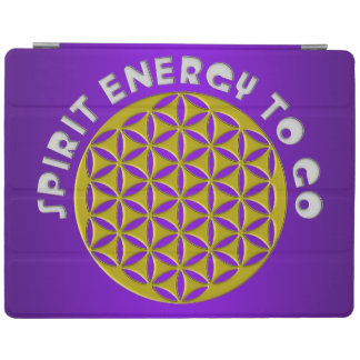 FLOWER OF LIFE - SPIRIT ENERGY TO GO - punched iPad Cover
