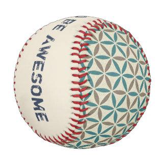 Flower of Life - stamp pattern - BG 1 Baseball