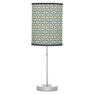 Flower of Life - stamp pattern - BG 1 Desk Lamps