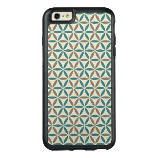 Flower of Life - stamp pattern - BG 1 OtterBox iPhone 6/6s Plus Case