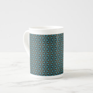 Flower of Life - stamp pattern - BG 2 Tea Cup