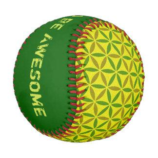 Flower of Life - stamp pattern - BG 3 Baseball