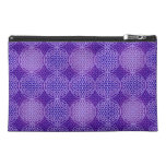 Flower of Life - stamp pattern - purple Travel Accessories Bags