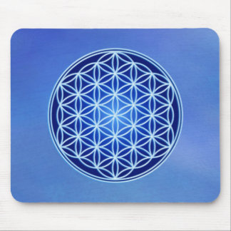 Flower of Life - Third Eye Chakra Mouse Pad