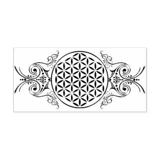 Flower Of Life - vintage ornaments 1 Self-inking Stamp