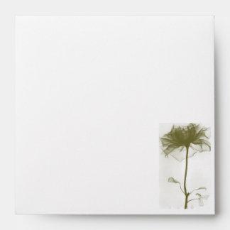 Flower of Life Wedding Envelope
