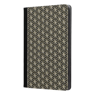 Flower of Life - white gold pattern + your backgr. iPad Air Case