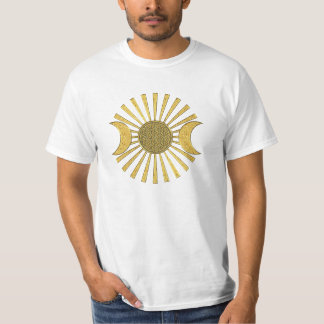 Flower Of Life with Moon T-Shirt