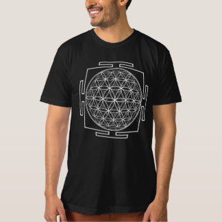 Flower_Of_Life_Yantra - Antar Pravas T-Shirt