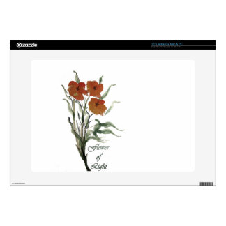 "Flower of LIght 15"" Laptop Decal"