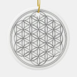 Flower Of Live / silver Ornaments